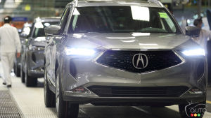 Production of 2022 Acura Officially Underway