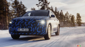 Mercedes-Benz Previews Upcoming EQA Electric SUV
