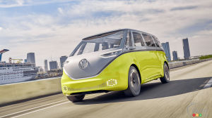 The Volkswagen ID. Buzz Microbus Pushed Back to 2023