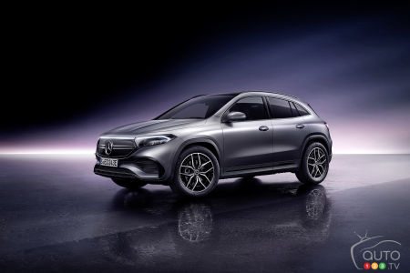 Mercedes-Benz Unveils the EQA 250
