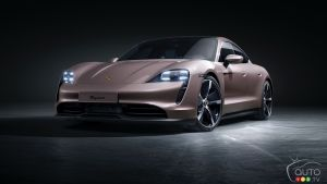 Porsche Unveils New Taycan Variant With Rear-Wheel Drive