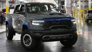The first Ram 1500 TRX Launch Edition