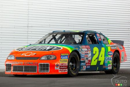 $155,000 for a NASCAR Car Driven by Jeff Gordon
