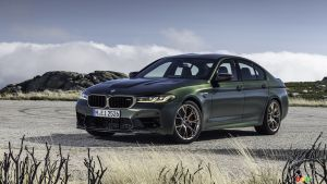 A BMW M5 CS Making 627 HP Coming for 2022