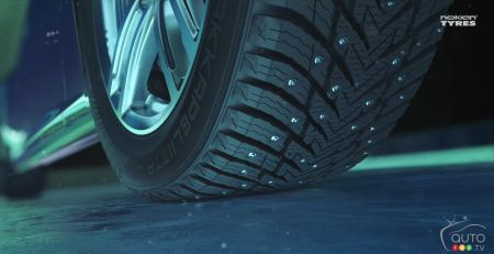 Nokian Presents its New Hakkapeliitta 10 Tire for Next Winter
