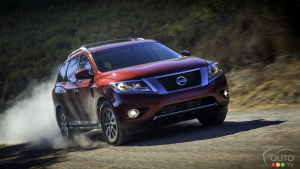 Nissan Recalling 354,505 Pathfinder SUVs Over Brake Light Issue