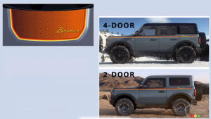 First Accessories for the Ford Bronco Make Appearance
