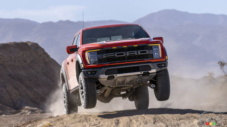 Ford Unveils its 2021 F-150 Raptor