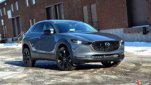 2021 Mazda CX-30 Turbo