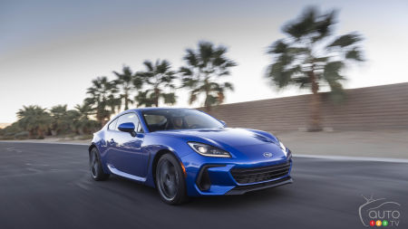 More-Powerful 2022 Subaru BRZ Makes its Big Entrance