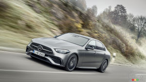 Revised 2022 Mercedes-Benz C-Class Unveiled
