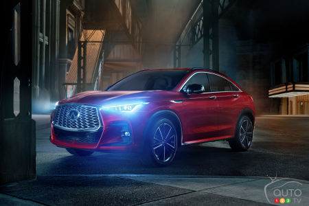 A First Look at the 2022 Infiniti QX55 Ahead of our Test Drive