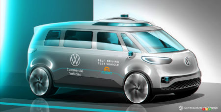 VW Aims for Near-Full Autonomy With its ID. Buzz by 2025