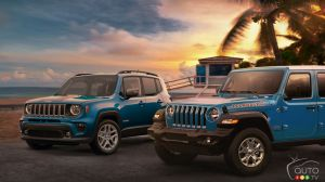 The Jeep Renegade and Wrangler Islander