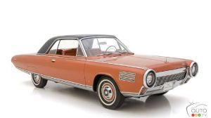 A Super-Rare 1963 Chrysler Turbine Is For Sale