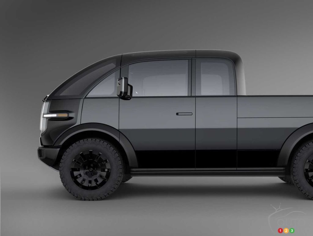 Canoo electric pickup concept