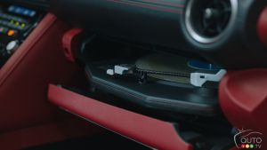 Lexus Installs Turntable in an IS 350 F Sport Because Why Not