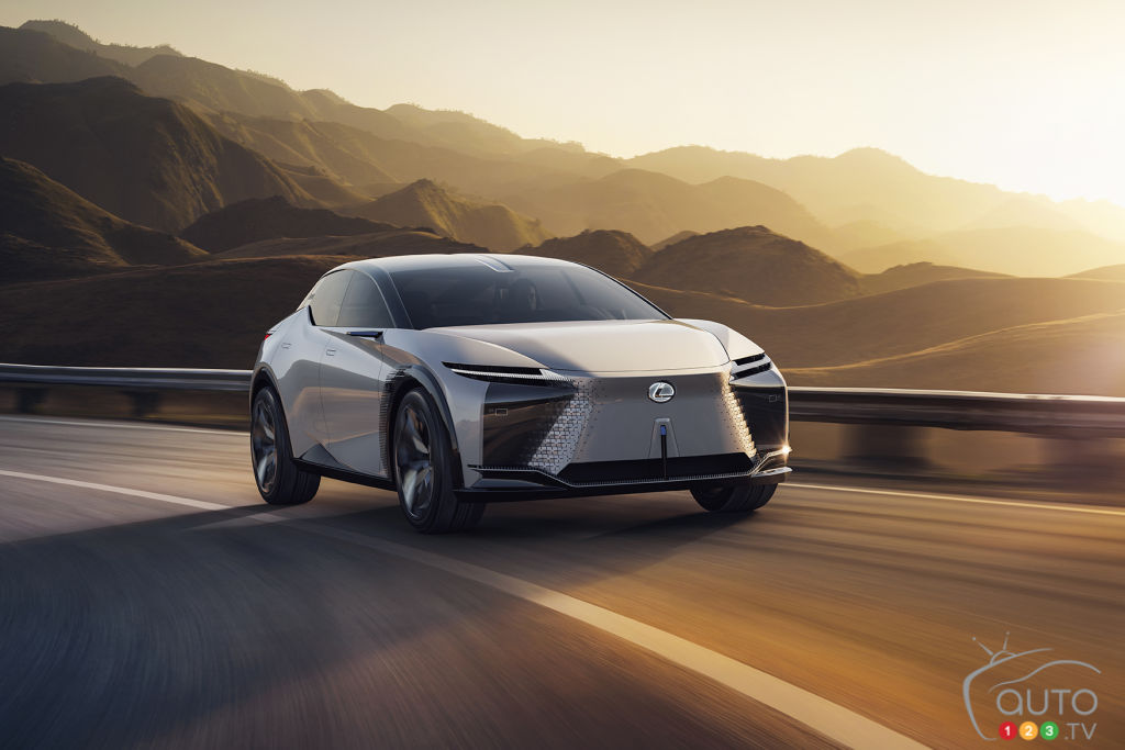 Introducing the Lexus LF-Z Electrified Concept: A Taste of Lexus' Electric Future