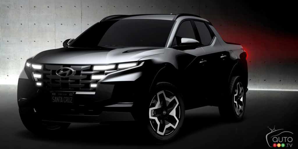 Hyundai Previews Long-Awaited Santa Cruz Pickup