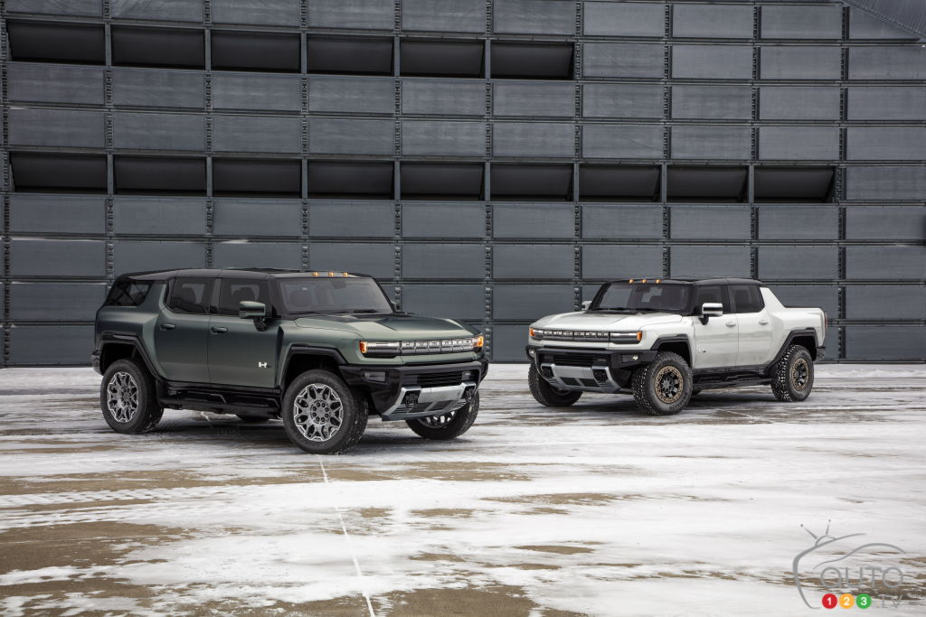 GMC Hummer EV SUV Makes Debut