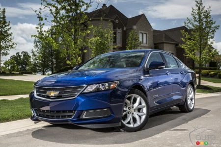 Chevrolet Continues to Sell Sonic and Impala Models, Even Though Both Are Discontinued
