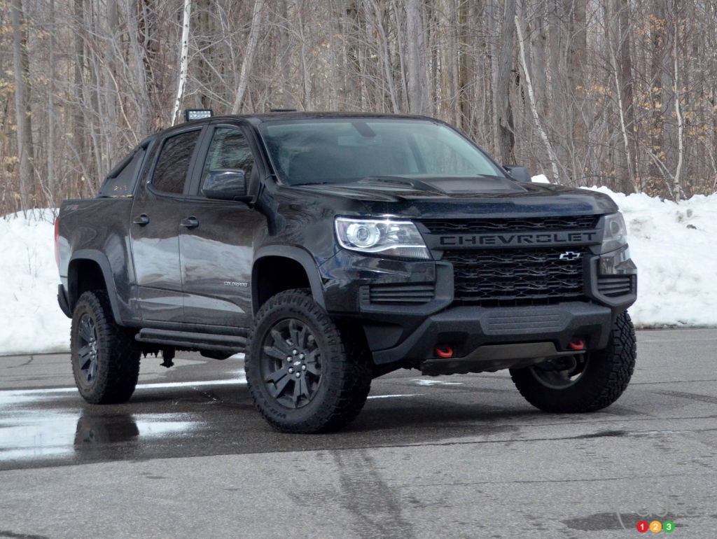 2021 Chevrolet Colorado ZR2 Midnight Edition