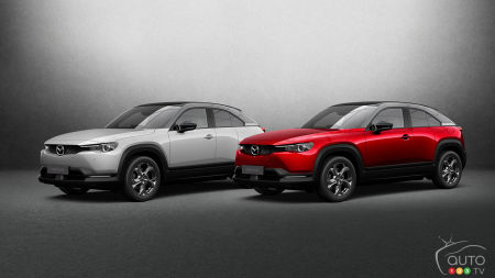 Mazda Enters Electric Sphere with MX-30 BEV