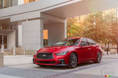 Infiniti Recalling 2021 Q50 and Q60 Over Stalling Issue