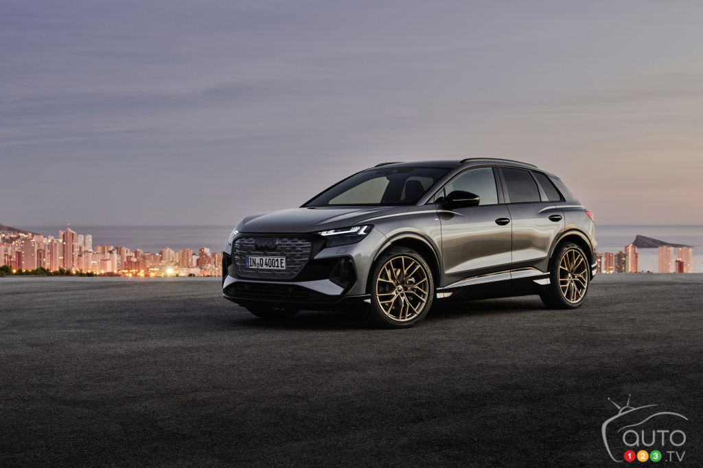 Audi Q4 e-tron: The Luxury Counterpart to the VW ID.4