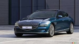 Shanghai 2021: Genesis Electrifies its G80 sedan