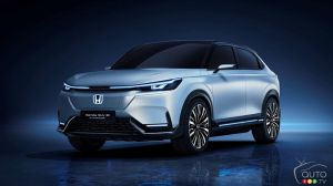 Shanghai 2021: Honda Showcases Its Own All-Electric SUV Concept