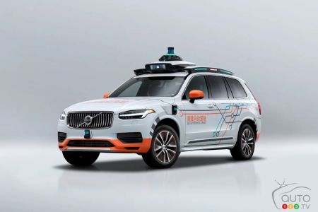 Autonomous Driving: Volvo Cars Will Supply XC90s to DiDi in China