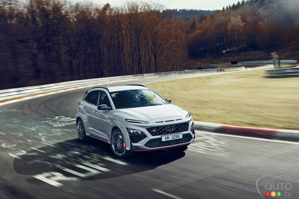 The Hyundai Kona N is a Bold Step Into the High-Performance Small SUV Sphere