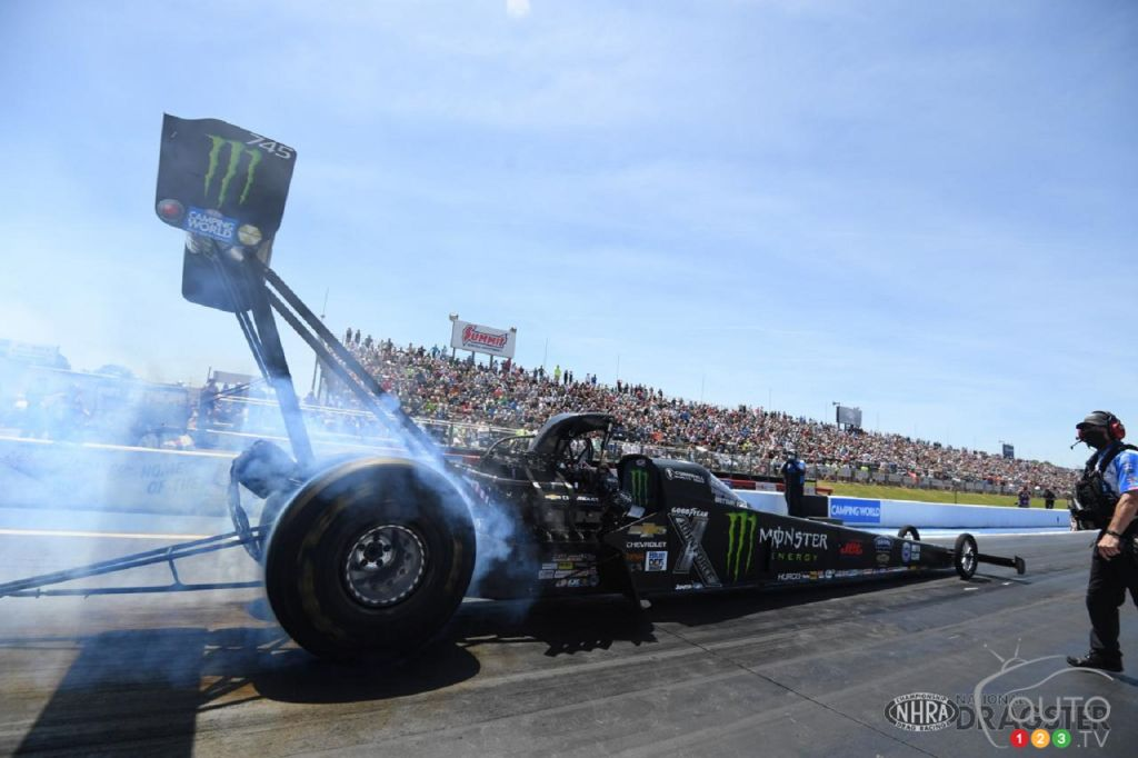 NHRA Sets Up Electric Category for Drag Racing