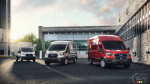 The 2022 Ford E-Transit