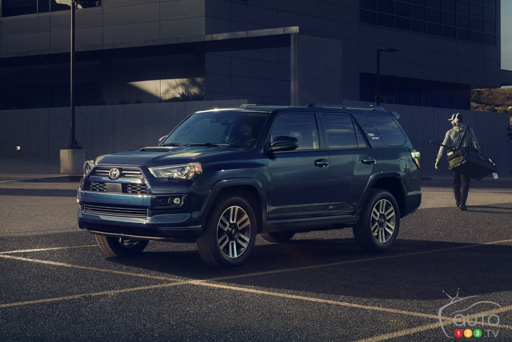 Toyota Adds a TRD Sport Version to its 4Runner for 2022