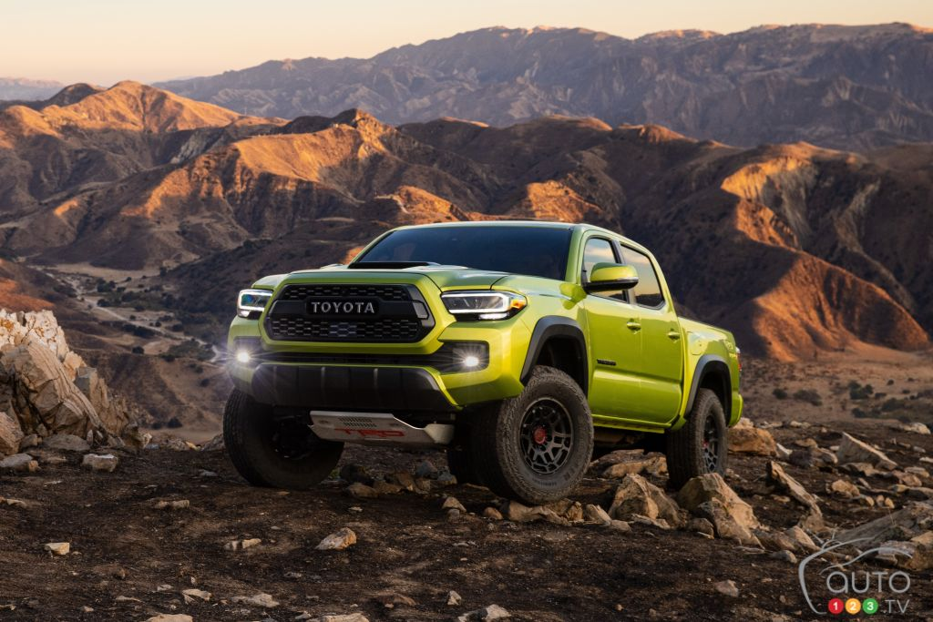 2022 Toyota Tacoma Gets TRD Pro and Trail Versions