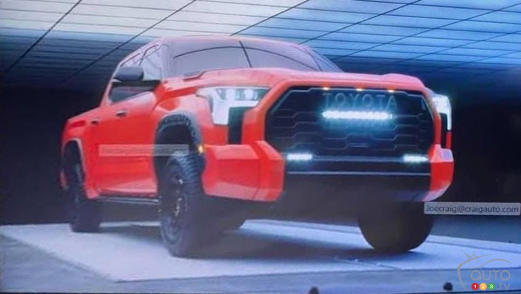 Images of the Upcoming Toyota Tundra Appear Online