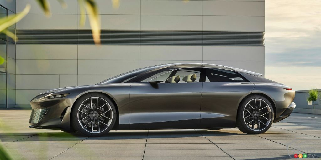 Le concept Grandsphere d'Audi