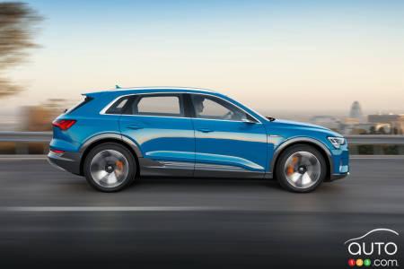 Audi e-tron 55 quattro, profile