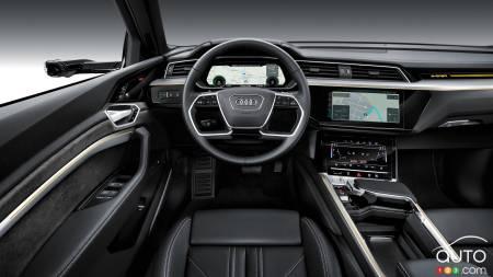 Audi e-tron 55 quattro, interior