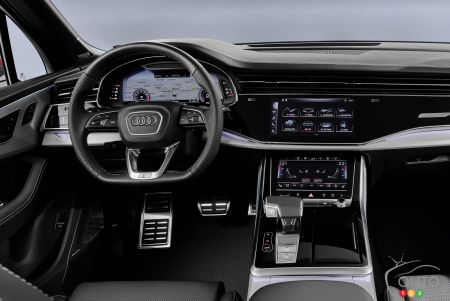 2020 Audi Q7, dashboard
