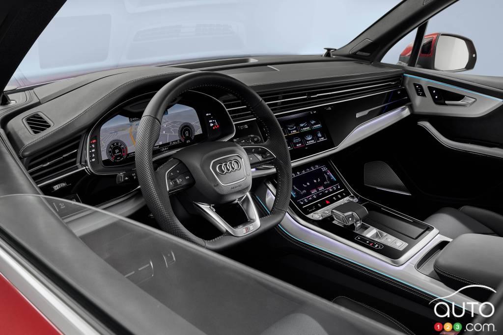Audi Q7 2020, intérieur