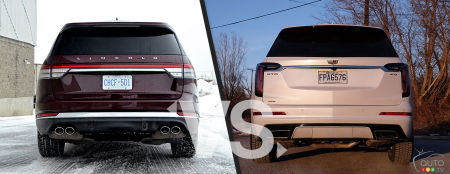 2020 Lincoln Aviator / 2020 Cadillac XT6, rear