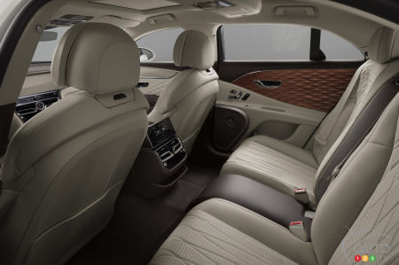 2021 Bentley Flying Spur, interior