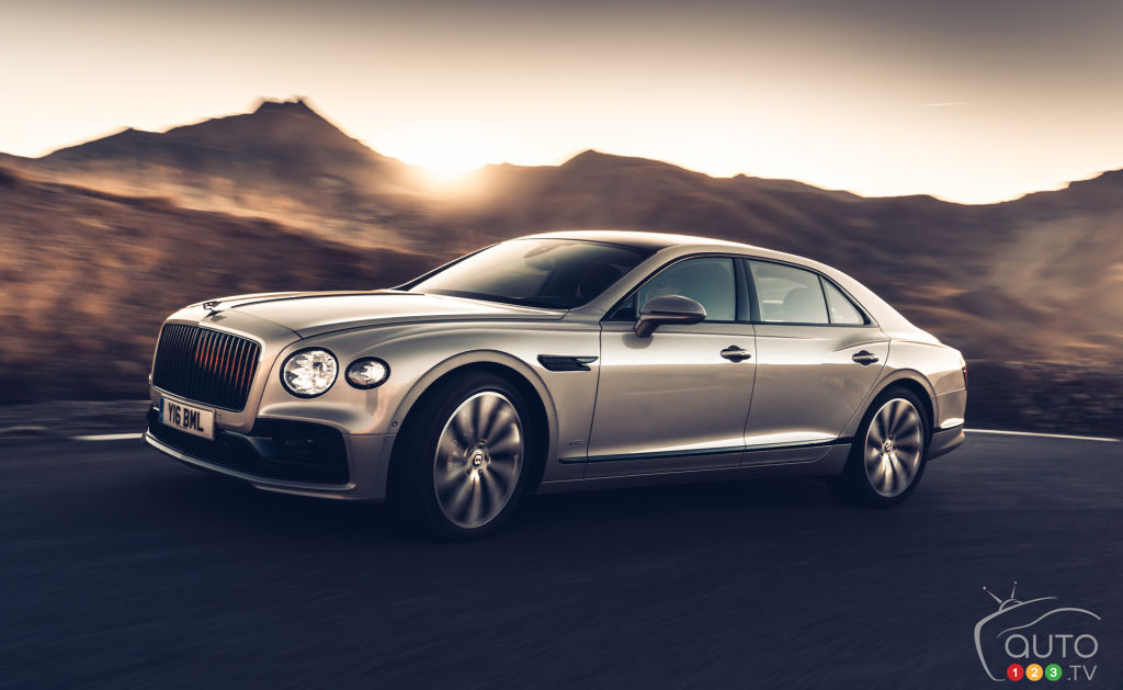 Bentley Flying Spur 2021, extérieur