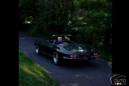 Joe Biden's 1967 Chevrolet Corvette, rear