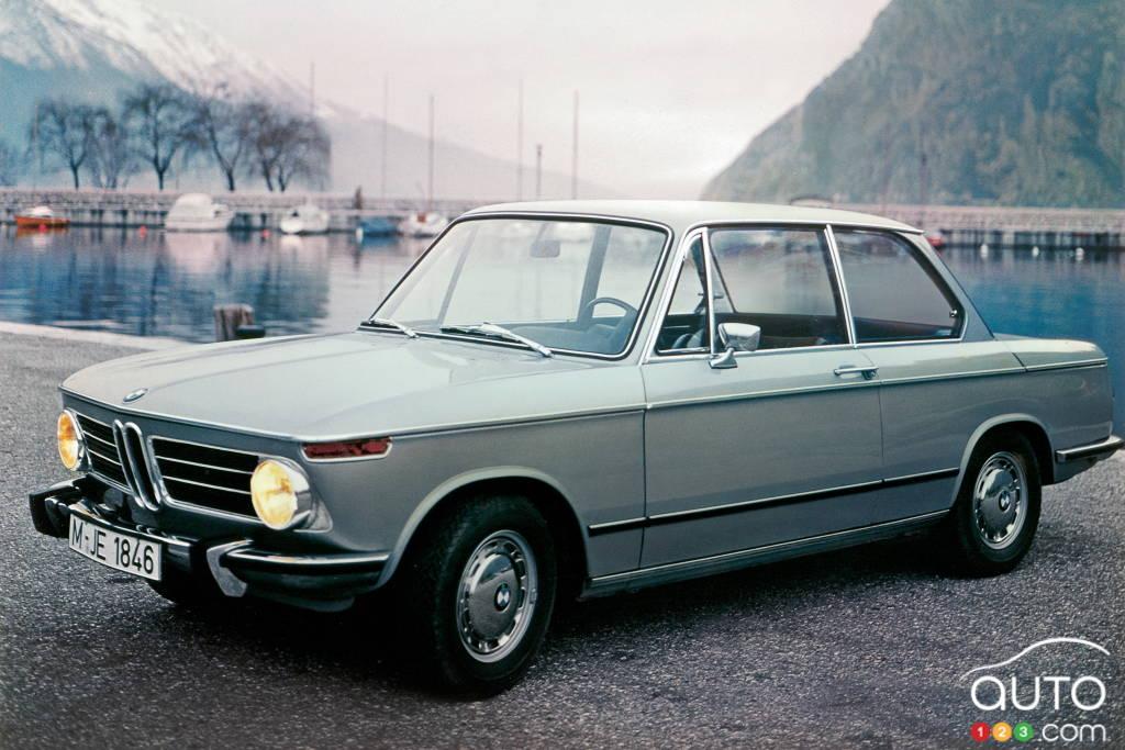 BMW 2002 1968, trois quarts avant