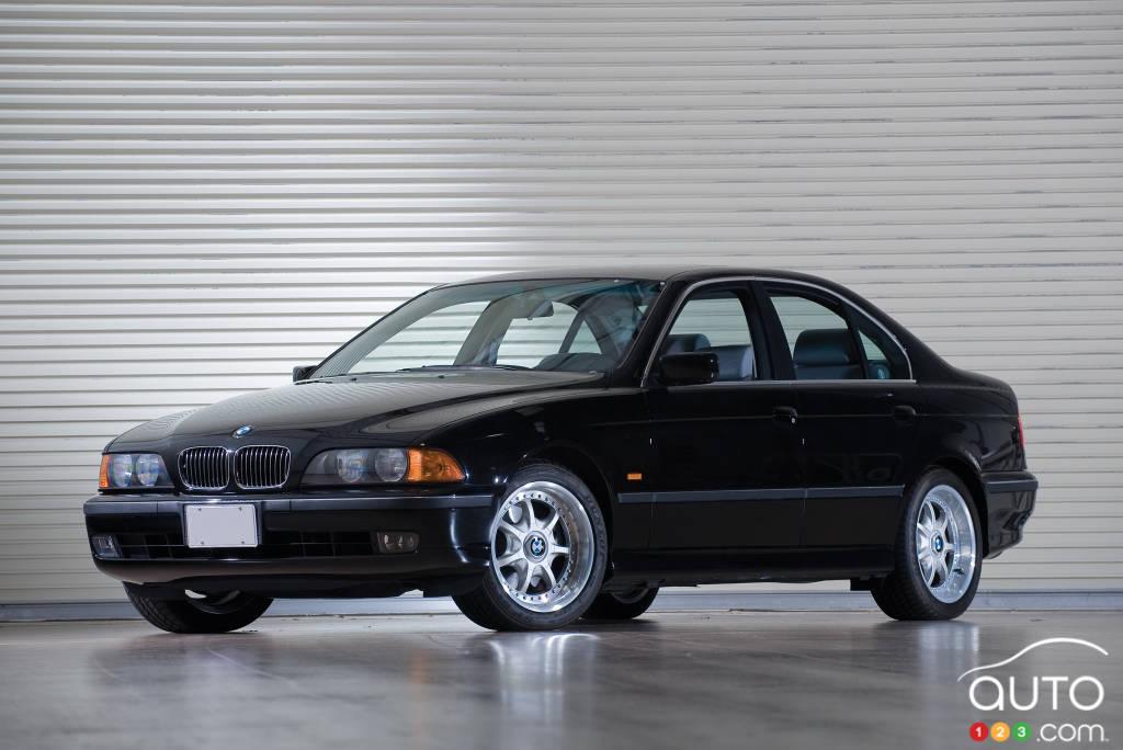 BMW Série 5 1997, trois quarts avant