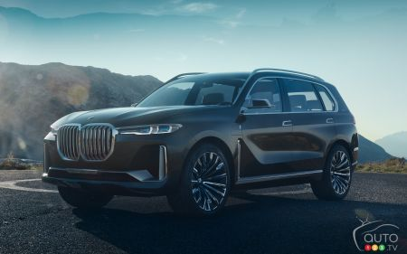 Prototype BMW X7 iPerformance